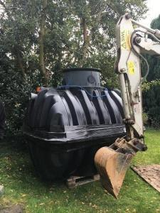 Homeseptic septic tank